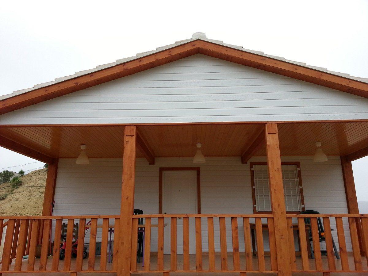 Casas de madera, modulares, madercas. Casas de madera prefabricadas, distribución elegida por cliente. Casas de madera con posibilidad de terminación sin mantenimiento Interiroes de gran calidad en casas de madera