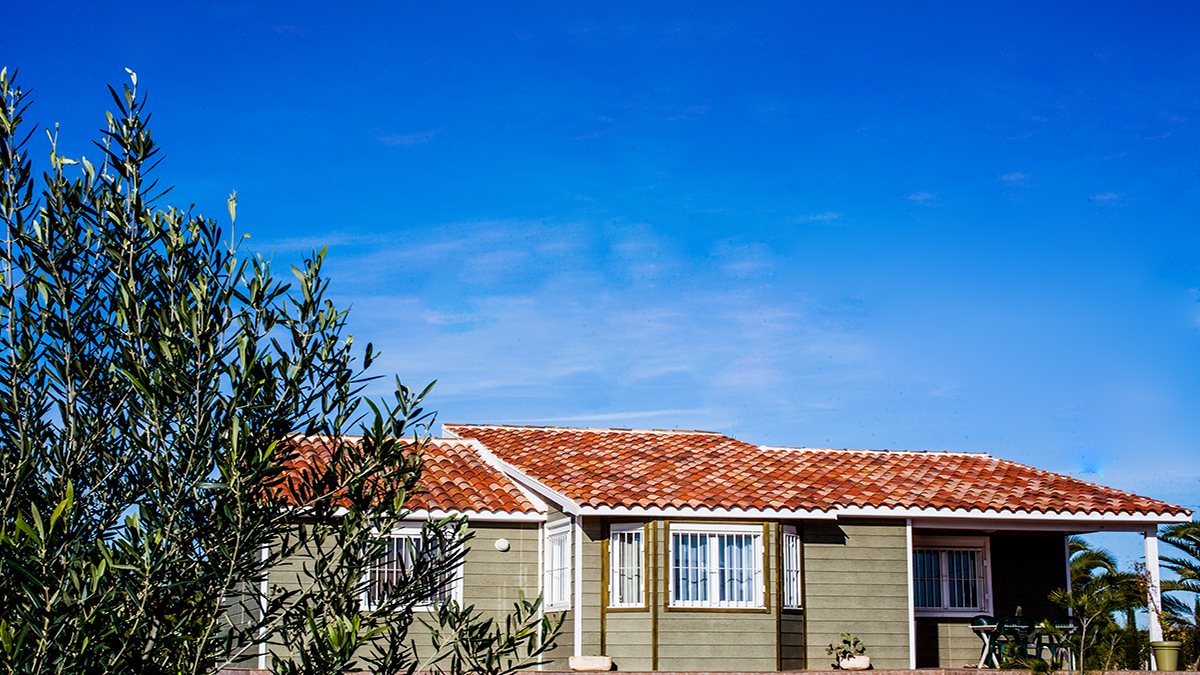 Casa de madera en canexel verde 132 m2