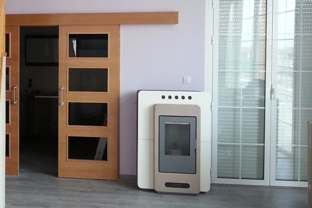 Estufas de pellets para su casa de madera