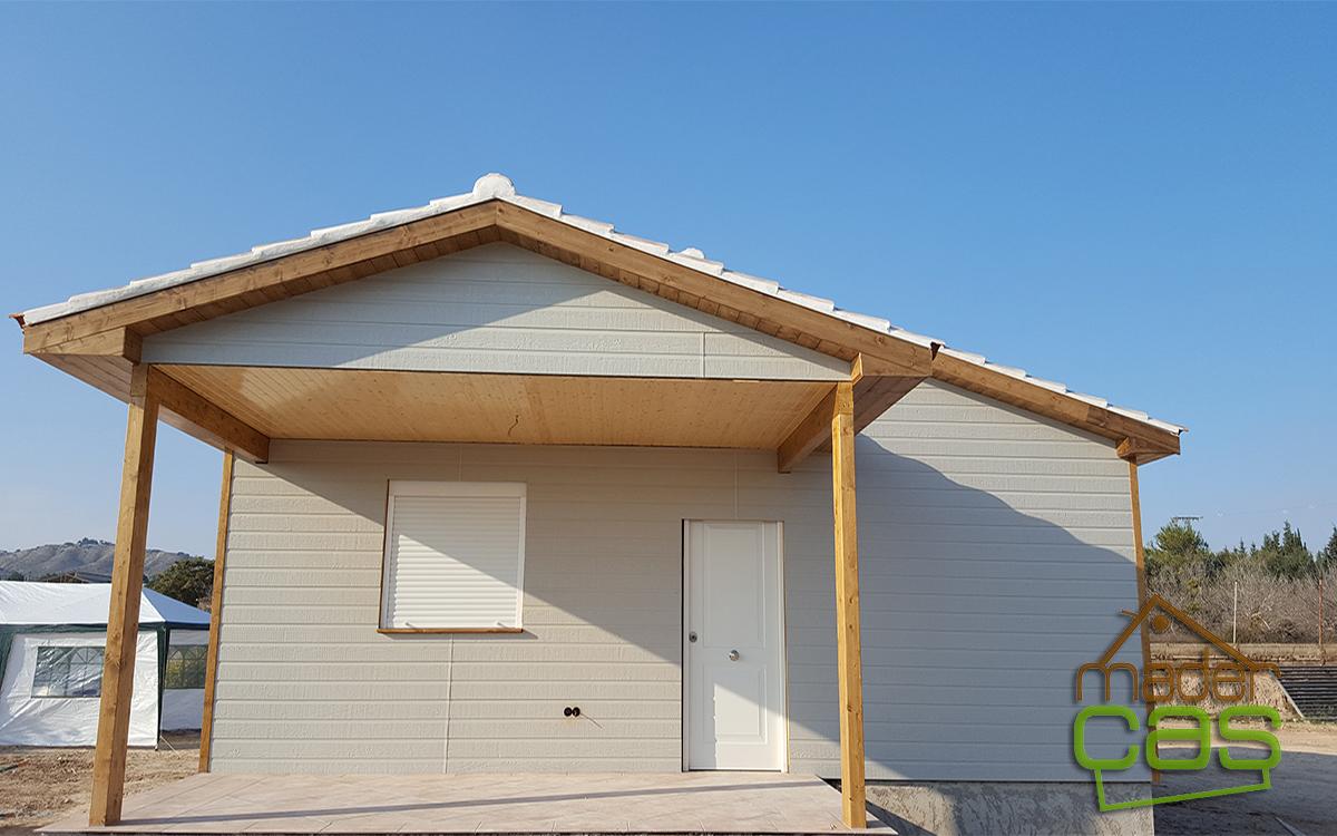 Casa de madera en canexel gris madercas - Casas de canexel ...