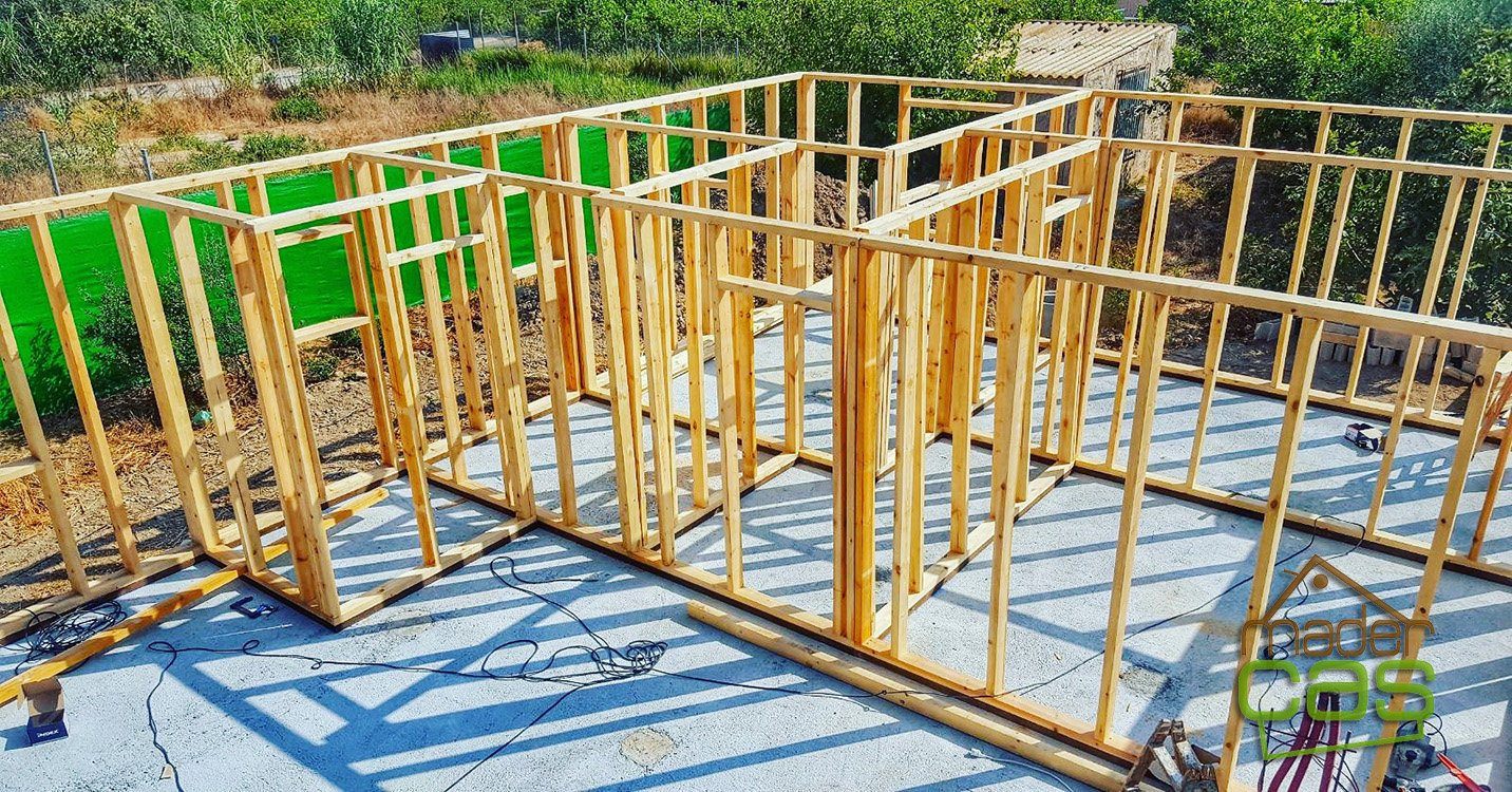 Casa de madera 91 m2
