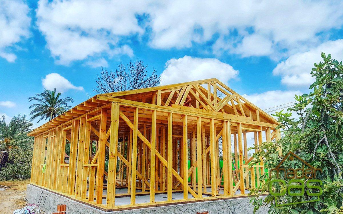 Casa de madera 91m2, frabricación modular