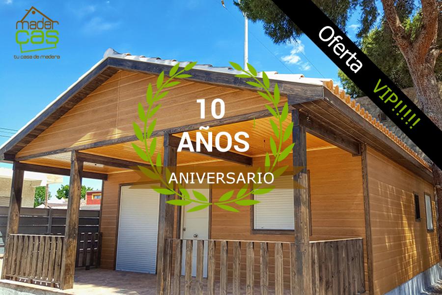 Oferta casa de madera VIP 79 m2