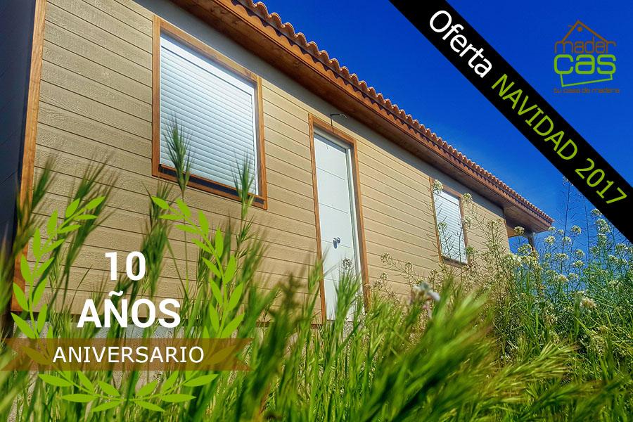 Oferta casa de madera económica 80 m2