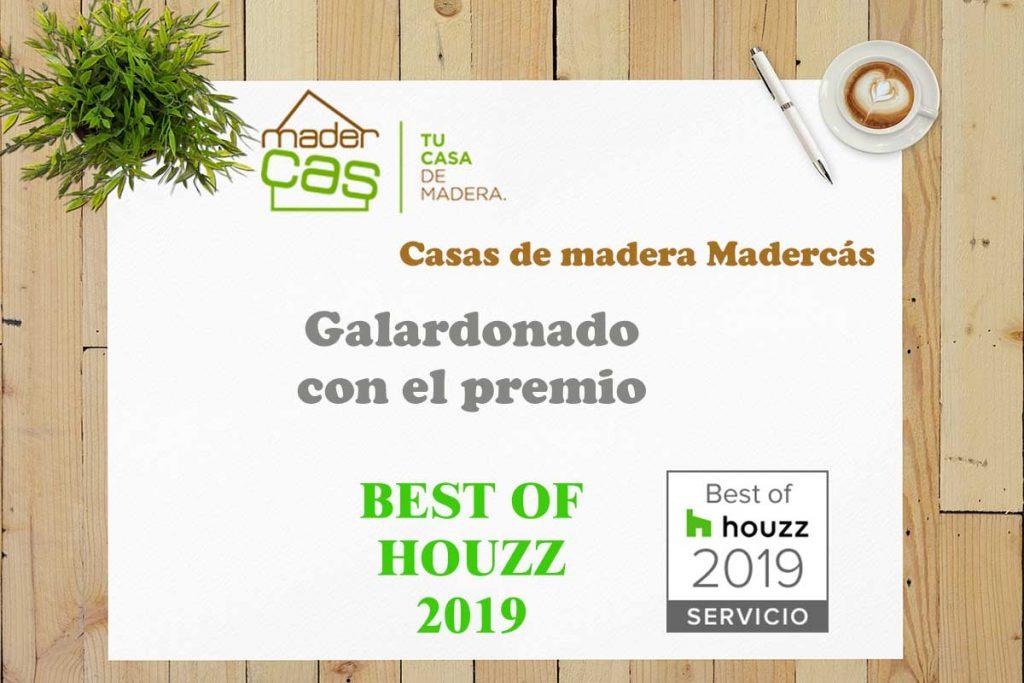 Madercás recibe el premio Best of Houzz 2019