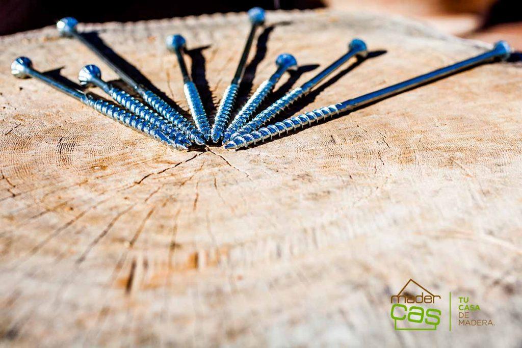 Elementos en construcción de madera