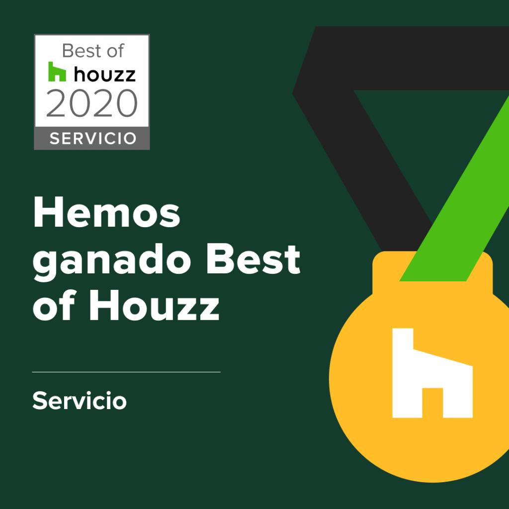 Madercás premiados con el Best of Houzz 2020