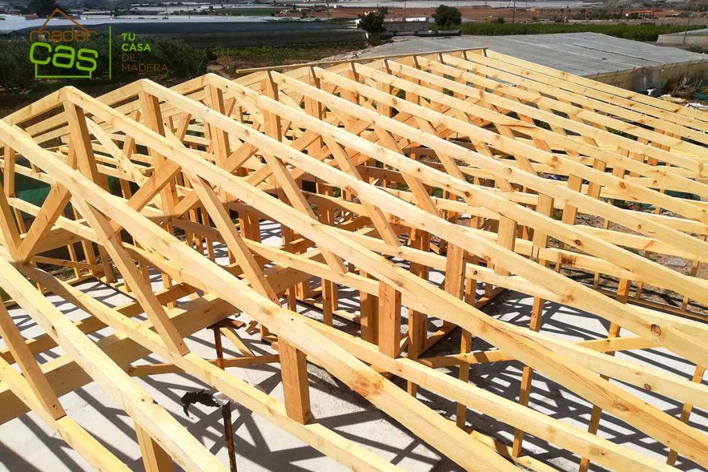 Nuevos edificios en madera