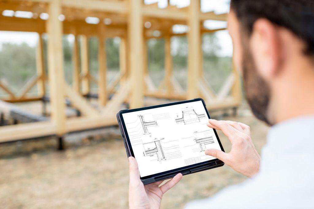 Proyecto de casa de madera madercás